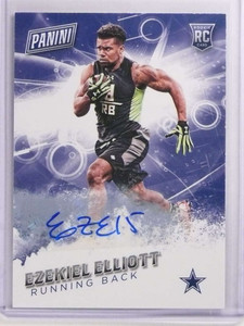 2016 Panini Father's Day Ezekiel Elliott autograph auto rc rookie #46 /25 *70007