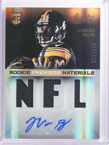 2013 Panini Absolute RPM Le'Veon Bell autograph auto jersey rc #D111/299 *70031