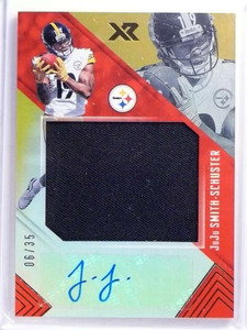 2017 Panini XR Juju Smith-Schuster autograph auto jersey rc #D06/35 *70096