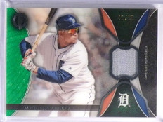 2017 Topps Tribute Relics Green Miguel Cabrera Jersey #D41/99 #TRMC *70494