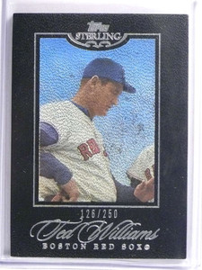 2006 Topps Sterling Ted Williams #D126/250 #55 *70372