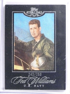 2006 Topps Sterling Ted Williams #D242/250 #56 *70392