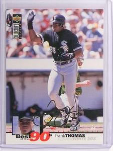 1995 Collector's Choice Gold Signature Frank Thomas #64 *70876