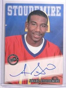 2002 Press Pass Silver Amare Stoudemire Rookie Autograph #D044/100 *70455