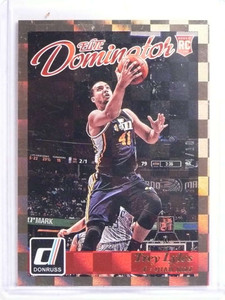 2015-16 Donruss Elite Rookie Dominator Gold Trey Lyles Rookie #D04/10 #23 *70269