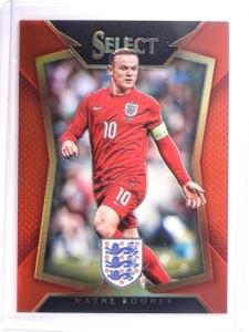 2015 Select Soccer Wayne Rooney Red Prizm #D199/199 #20  *52589