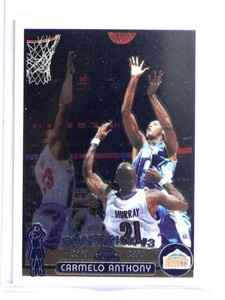 2003-04 Topps Chrome Carmelo Anthony Rookie RC #113 *70288
