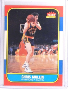 1986-87 Fleer Chris Mullin Rookie RC #77 *70800