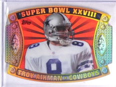 2011 Topps Super Bowl Legends Giveaway Die Cut Troy Aikman #SB56 *70469