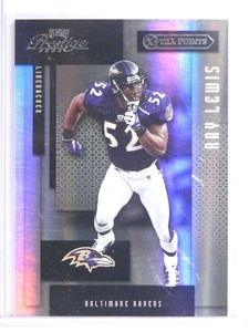 2004 Playoff Prestige Xtra Points Black Ray Lewis #D10/25 #12 *70917
