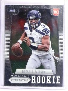 2012 Panini Prizm Russell Wilson Rookie RC #230 *70753