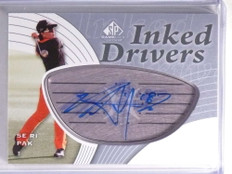 2012 SP Game Used Golf Inked Drivers Se Ri Pak Autograph auto #IDSP *70574