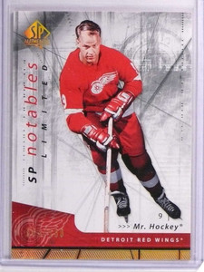 2006-07 SP Authentic Limited Gordie Howe #D064/100 #114 *70671