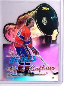 1999-00 Topps Stanley Cup Heroes Refractor Guy Lafleur #SC3 *70690