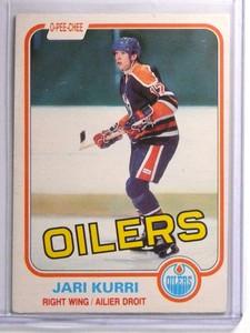 1981-82 O-Pee-Chee Jari Kurri Rookie RC #107 EX *70556
