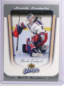 2005-06 Upper Deck MVP Henrik Lundqvist Rookie RC #418 *70905