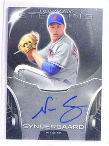 2013 Bowman Sterling Noah Syndergaard autograph auto rc rookie  *71110
