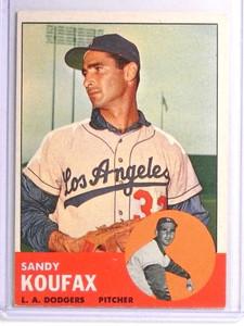 1963 Topps Sandy Koufax #210 EEX *71018
