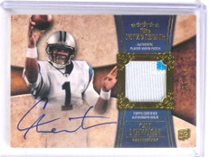 2011 Topps Five Star Cam Newton autograph auto patch rc #D36/55 #170 *70971