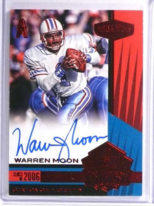 2017 Panini Plates Patches Canton Calligraphy Warren Moon autograph #D3/3 *71009
