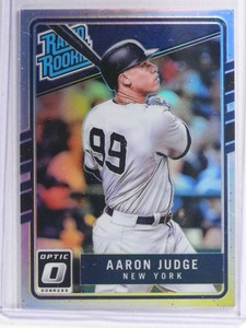 2016 Donruss Optic Rated Rookies Holo Refractor Aaron Judge Rookie RC #38 *71236
