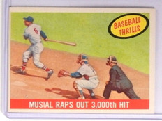 1959 Topps Baseball Thrills Stan Musial #470 EXMT *71134