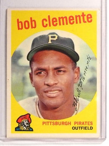 1959 Topps Roberto Clemente #478 GD-VG *71146