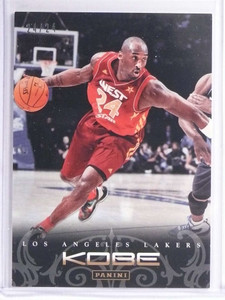 2012-13 Panini Kobe Bryant Anthology Gold Kobe Bryant #D24/24 #191 *71205