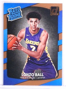2017-18 Panini Donruss Lonzo Ball Rookie RC #199 *71473