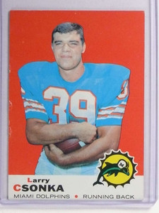 1969 Topps Larry Csonka rc rookie #120 VGEX *71156