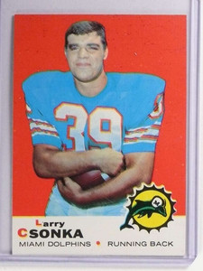 1969 Topps Larry Csonka rc rookie #120 VGEX *71159