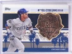 2017 Topps All Star Team Medallion Addison Russell Medal #MLBASARU *71691
