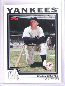 2006 Topps Mantle Collection Mickey Mantle #MM2004 2004 *71752