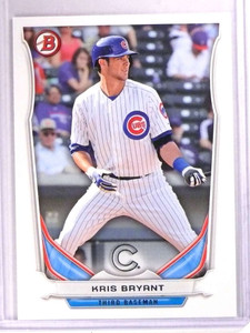 2014 Bowman Draft Top Prospects Kris Bryant Rookie RC #TP62 *71836