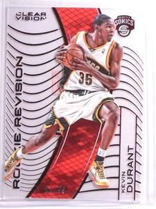 2015-16 Panini Clear Vision Red Rookie Revision Kevin Durant #D21/99 #127 *71655