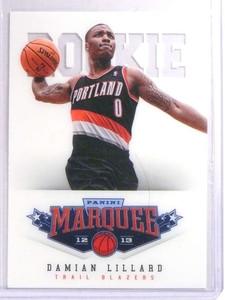 2012-13 Panini Marquee Damian Lillard Rookie RC #461 *71660