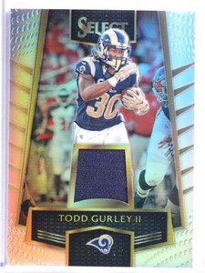 2016 Panini Select Prizms Todd Gurley Jersey #D121/199 #41 *71516