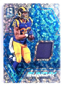 2016 Panini Spectra Sunday Spectacle Todd Gurley Jersey #D87/99 #23 *71520