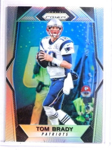2017 Panini Prizm Prizms Refractor Tom Brady #33 *71541