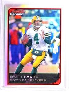 2006 Bowman Chrome Refractor Brett Favre #163 *71546