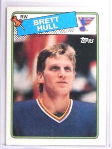 1988-89 Topps Brett Hull Rookie RC #66 *71480