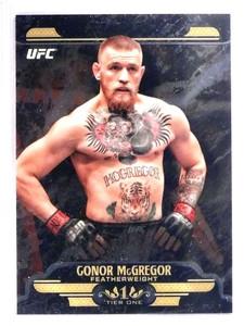 2017 Topps Chrome UFC Tier1 Conor McGregor #UTGM *71663