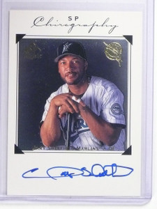 1998 UD SP Authentic Chirography Gary Sheffield Autograph #GS *64340