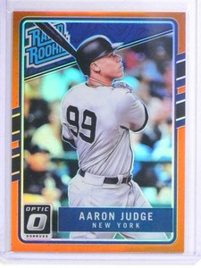 2017 Donruss Optic Rated Rookie Orange Prizm Aarom Judge rc #D119/199 *72026