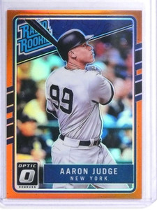 2017 Donruss Optic Rated Rookie Orange Prizm Aarom Judge rc #D80/199 *72027