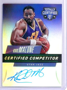 2014-15 Totally Certified Competitor Karl Malone autograph auto #D01/25 *71955