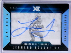 2017 Panini XR Endorsements Leonard Fournette autograph auto rc #D/49 *71926