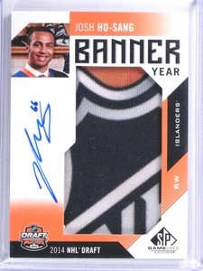 2017-18 Sp Game Used Banner Year Josh Ho-Sang autograph auto rc #D03/30 *71986