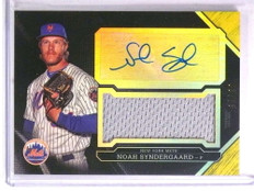 2016 Topps Triple Threads Noah Syndergaard autograph auto jersey #D03/25 *72290