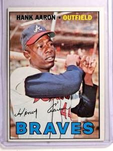 1967 Topps Hank Aaron #250 EXMT *72263